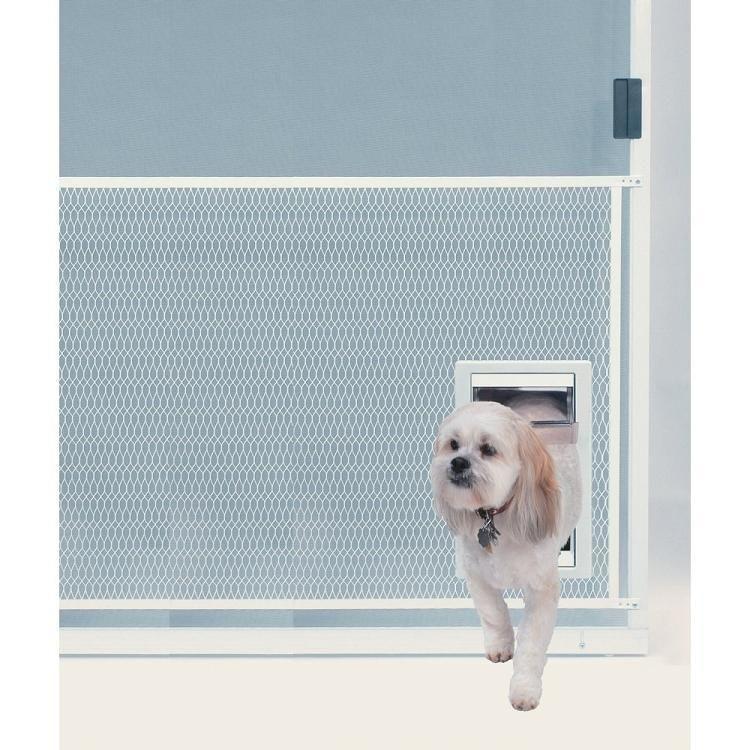 Screen Guard Pet Door Extra Large Pet screen door, Dog