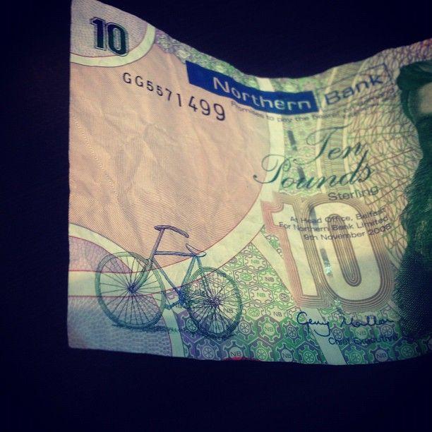 Northern Ireland 10 pound note