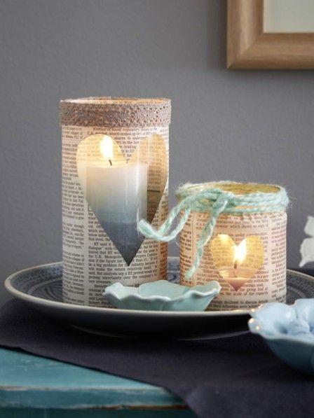 windlichter selber basteln eisblau trifft grau tins jars pots basteln windlichter selber. Black Bedroom Furniture Sets. Home Design Ideas