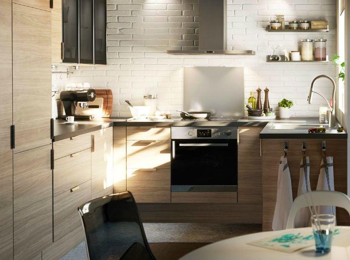 Meubles De Cuisine IKEA Notez La Qualité Du Plan De Travail - Meuble d angle haut cuisine pour idees de deco de cuisine