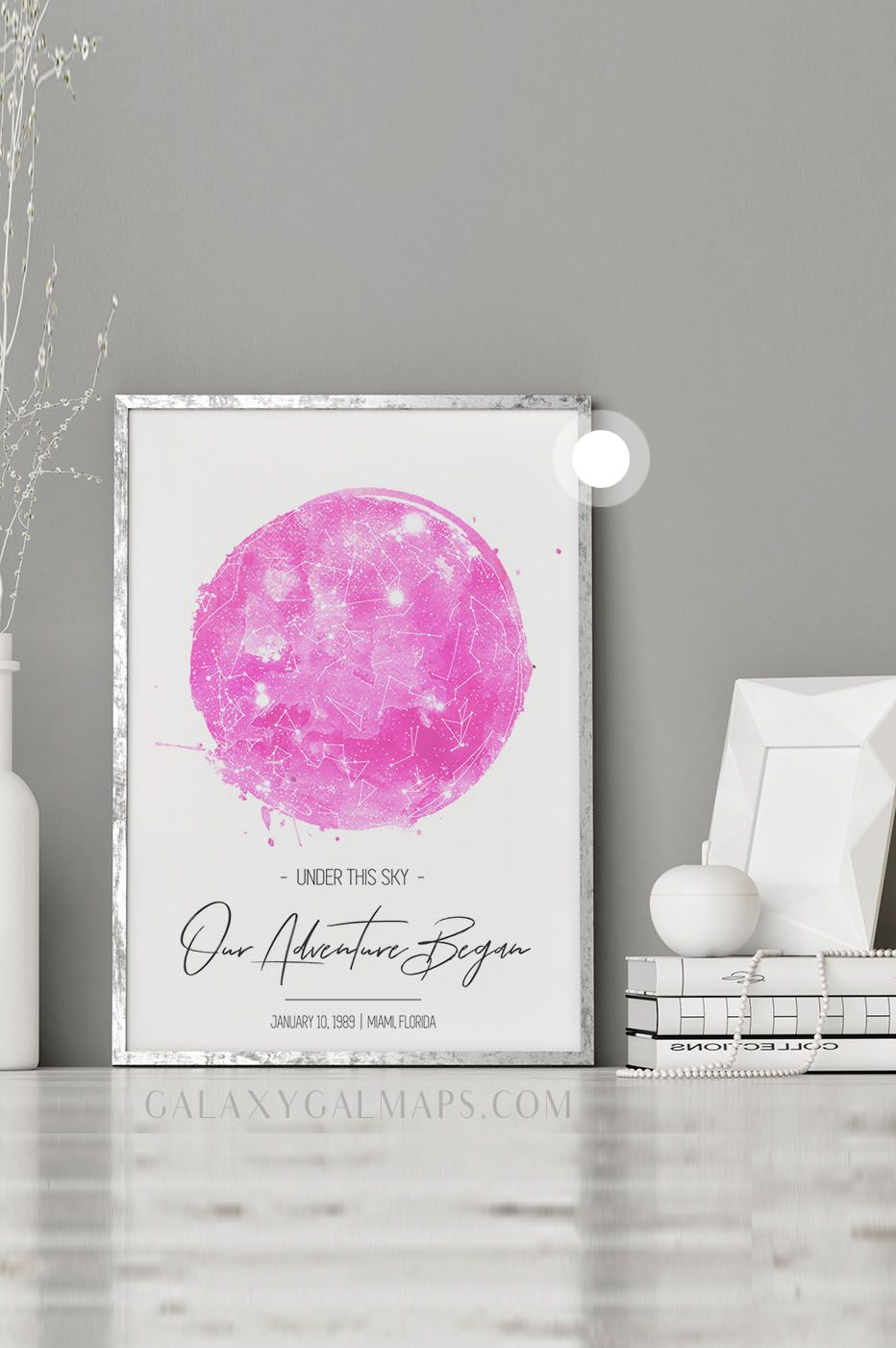 Your Unique Star Map By Date Black And White Guest Book Wedding