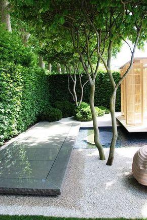 Outdoor Spaces - No-Grass Garden Design Gardens, Landscaping and