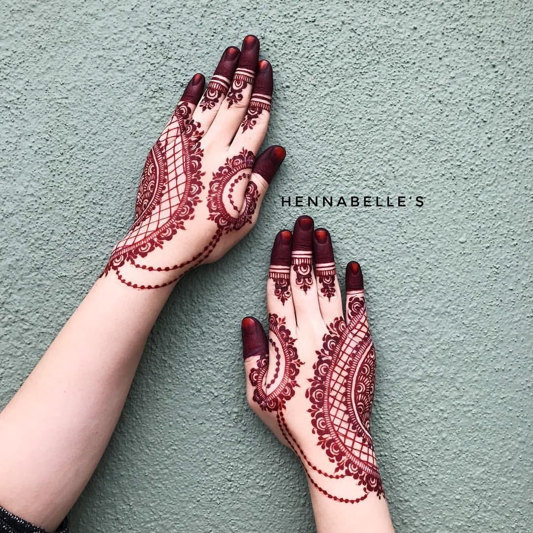 Red Henna Tattoo: Pin On Mehndi