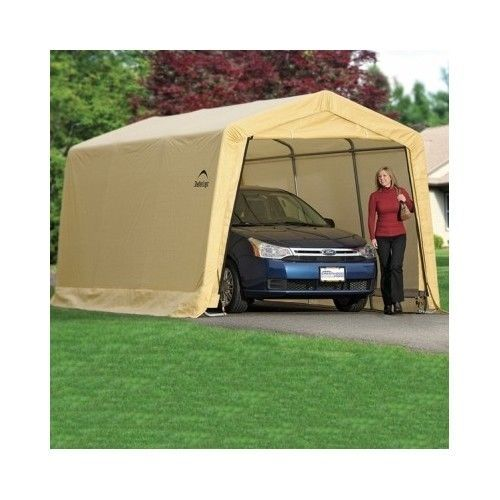 Outdoor Car Garage Storage Portable Canopy Shelter Carport Shed Auto 10 X  15 X 8 #