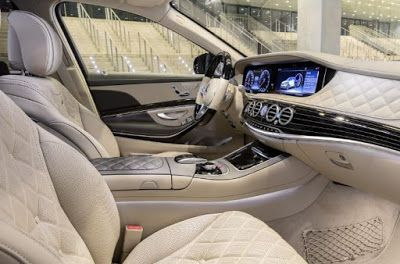 2018 Mercedes Benz S Class Maybach Interior Mobil