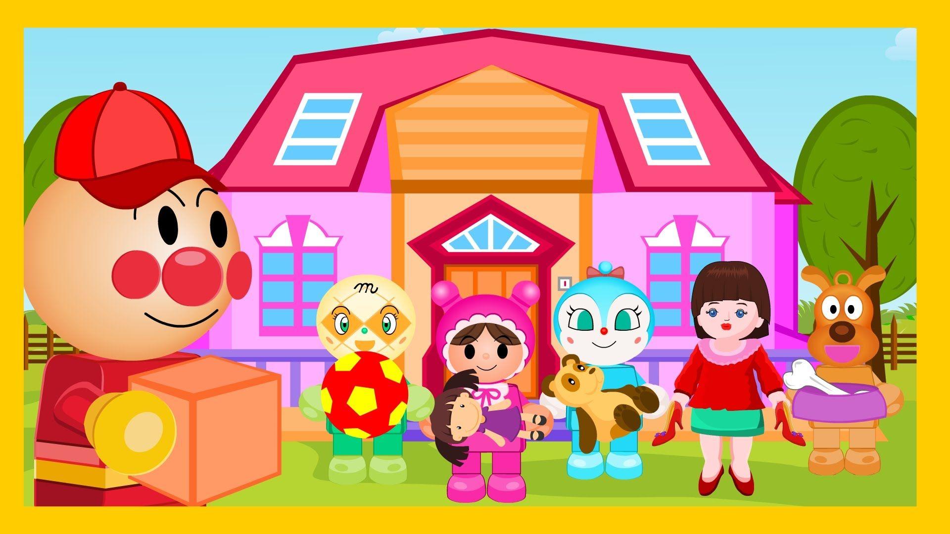 Anpanman Toys Anime Episode 27 Anpanman Courier Service