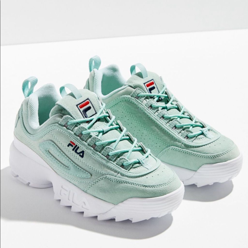 Fila disruptor pastel sneaker | Cute