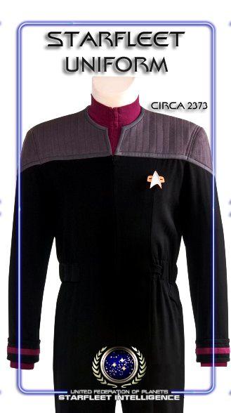 STARFLEET INTELLIGENCE FILE: Starfleet Uniform; Circa 2373