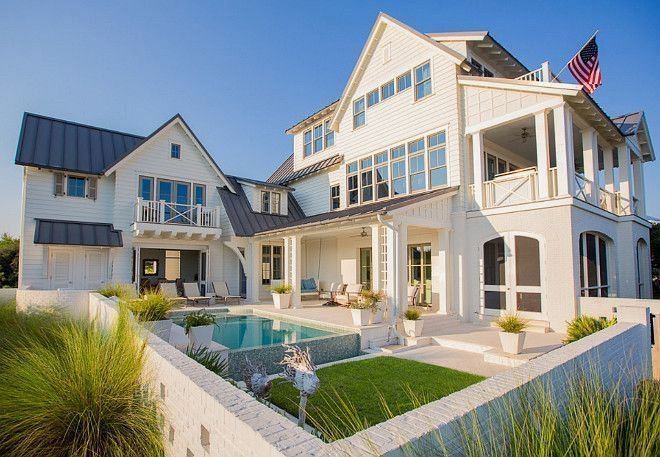 Best Beach House Ivory Siding With The Charcoal Gray 400 x 300
