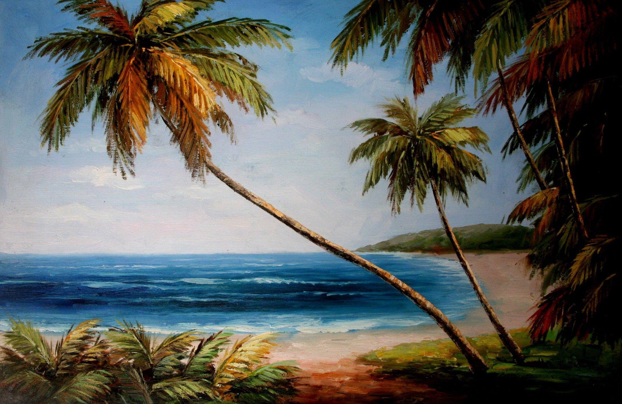Hand Painted Landscape Oil Paintings La 0064 Resim Resimler Gorsel Sanatlar