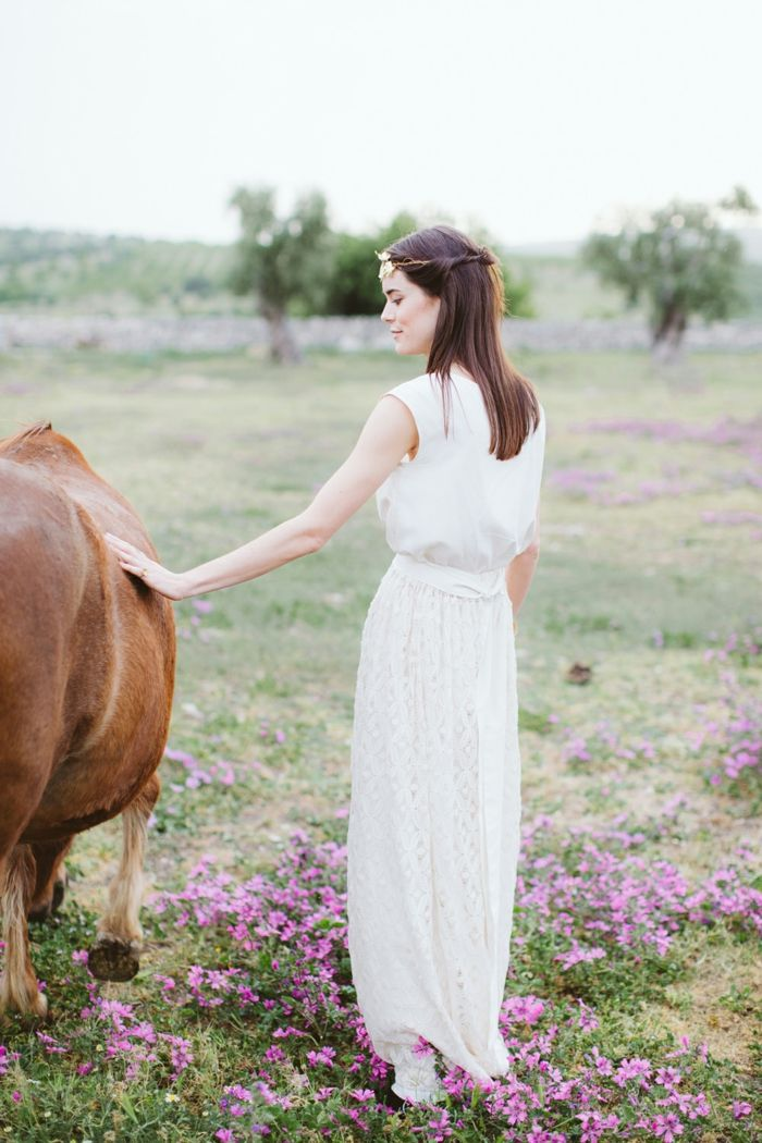 vestidos boda civil, vestido simple de líneas limpias, ideas de ...