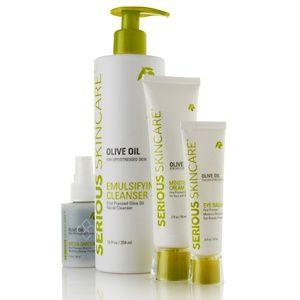 Serious Skincare O Love My Skin Kit For Dry Skin At Hsn Com Olive Oil Skin Care Diy Dry Skin Care Dry Skin Treatment