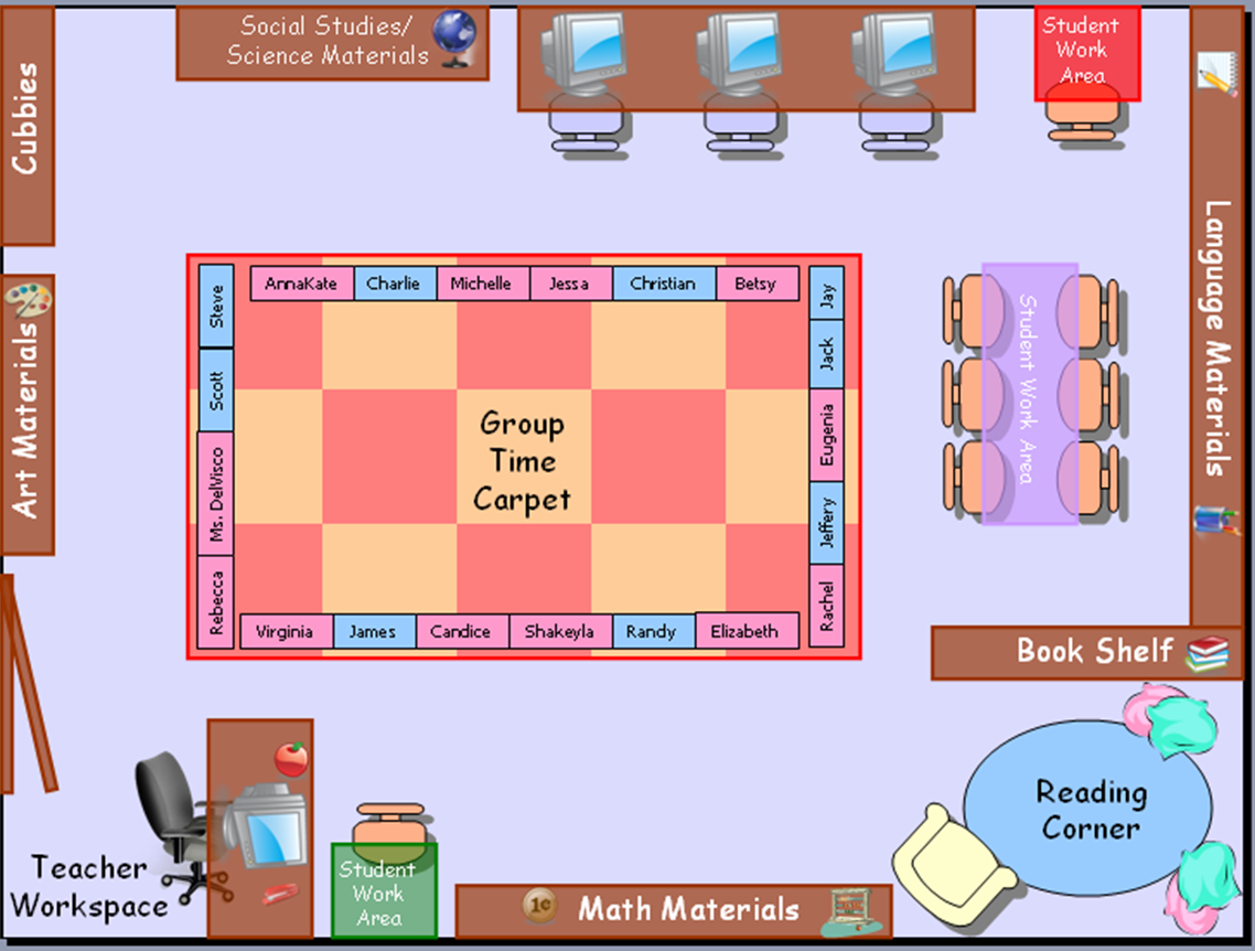 Classroom Seating Chart Template  Seating Chart  Teaching
