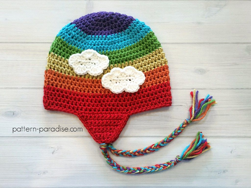 Free pattern easy earflap hat by pattern paradise crochet find this pin and more on crochet free pattern bankloansurffo Choice Image