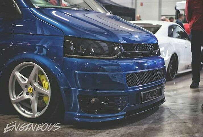 @dickyvwt5 's T5 Is Insane  #ModifiedVans #VolksWagen #Transporter #T5 #LowDownTransporters  GO FOLLOW @dickyvwt5 by modifiedvans