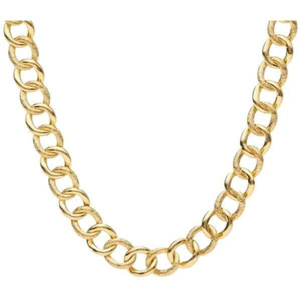 Pre-owned Coach signature C Curb chain link necklace ($141) ❤ liked on Polyvore featuring jewelry, necklaces, accessories, gold, pre owned jewelry, curb chain necklace, yellow gold necklace, coach jewelry and gold jewellery