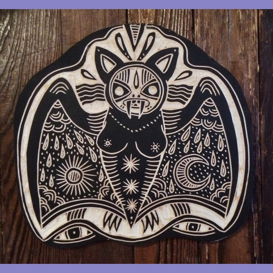 Austin tattoo convention bat by bryn perrott austin