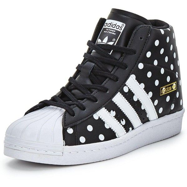 d81e5a672cf4 Adidas Originals Superstar Up W Trainers (1.519.910 IDR) ❤ liked on  Polyvore featuring shoes