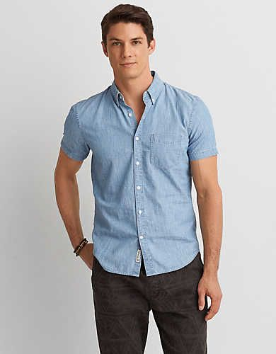 5dd065cc7b1a Sharpen up your summer look with our new collection of short-sleeve button  downs.