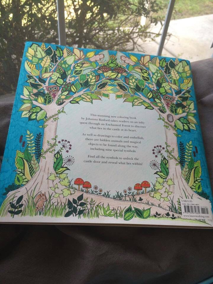Back Cover Of My First Enchanted Forest