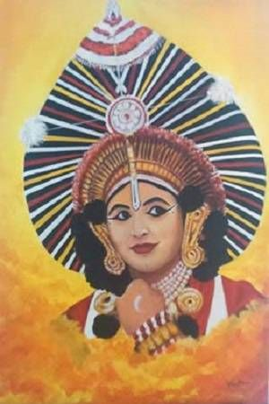 Paintings By Vranda Phadke Yakshagana In 2019 Indian Art