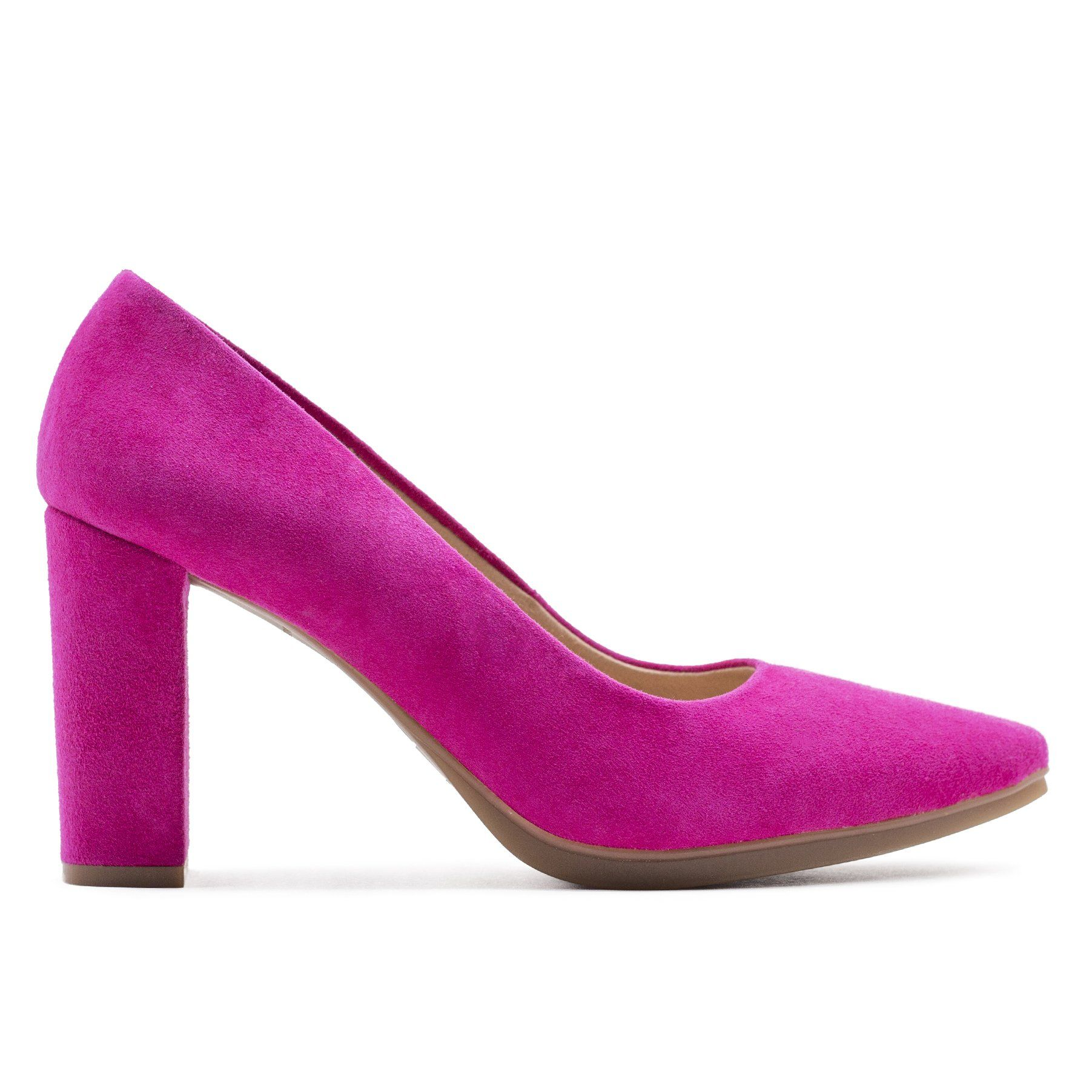 Piel Mimao Tacón Urban Fucsia Zapato Zapatos Online De Tienda YHED29IW