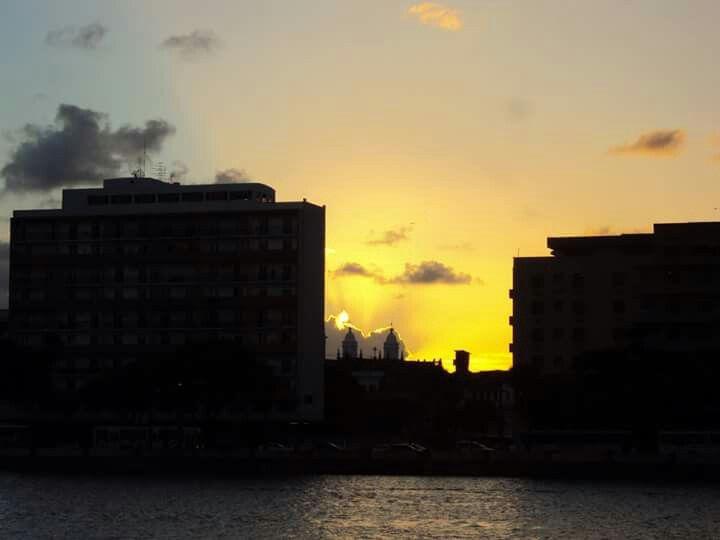 Pôr do sol em Recife - PE