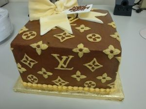 Happy Birthday To Me Louis Vuitton Cake My Birthday Cake