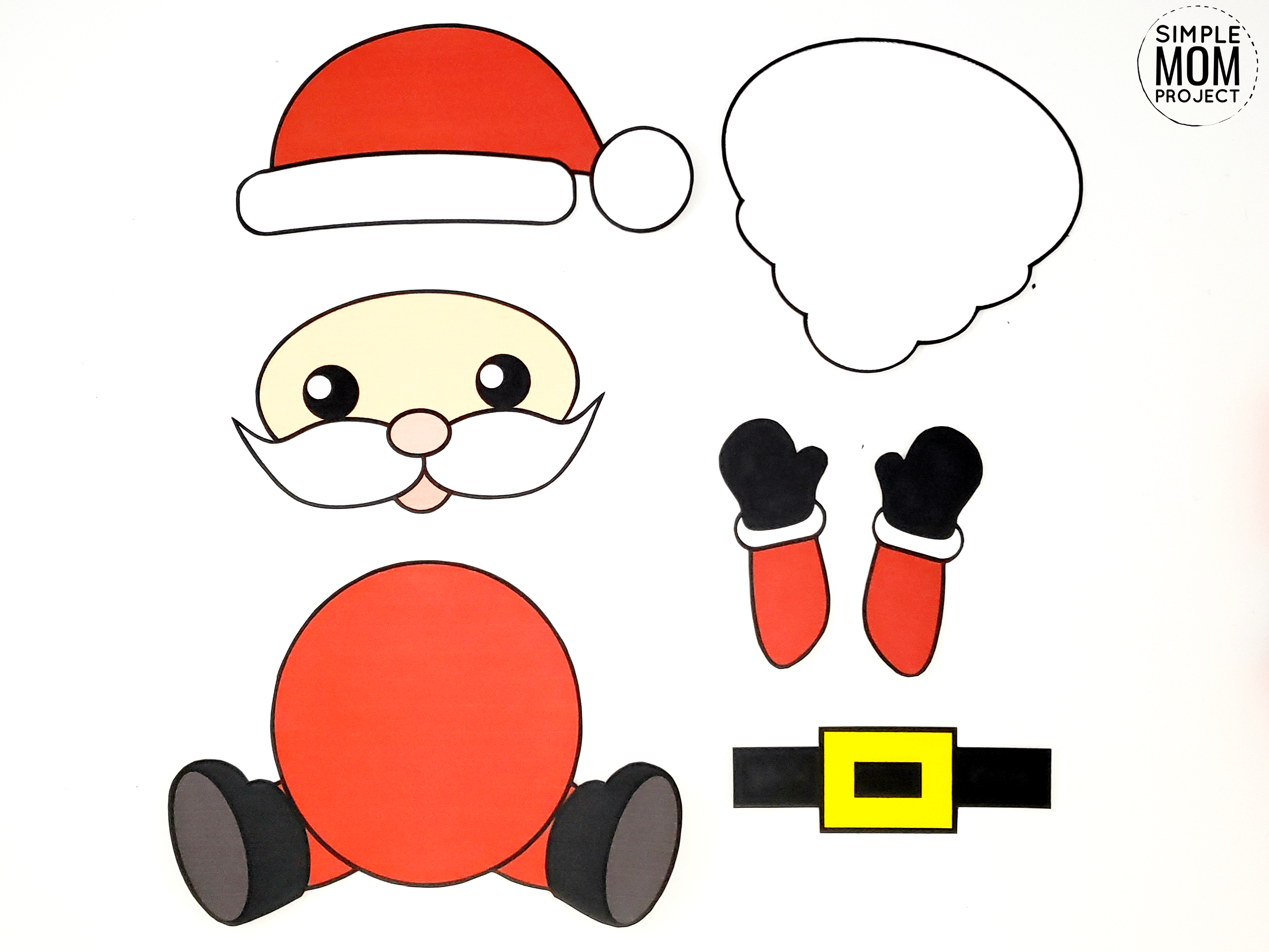 Easy To Make Santa Claus Craft With Free Templates