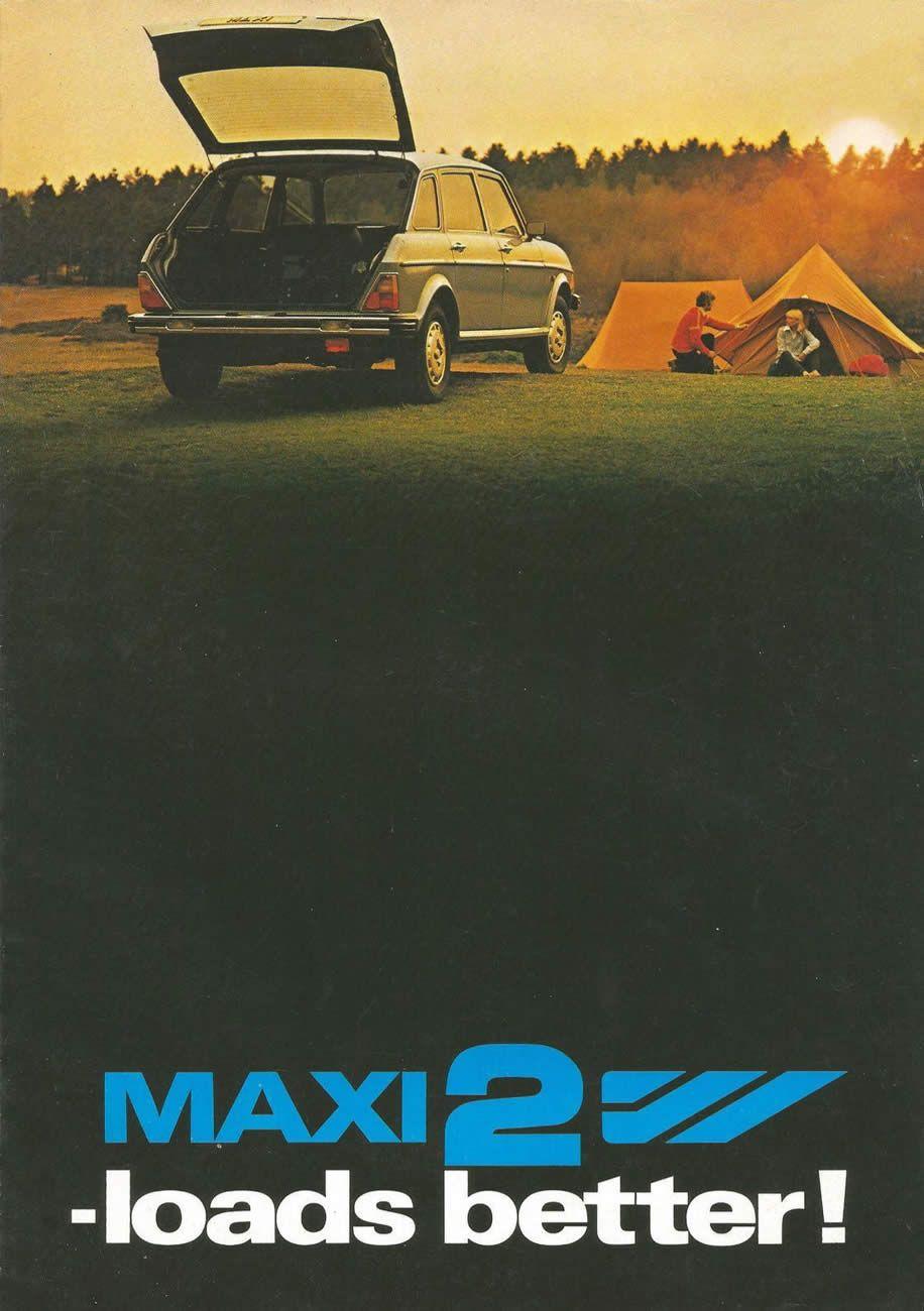 Austin maxi 2 brochure 1982 sales brochures brochure