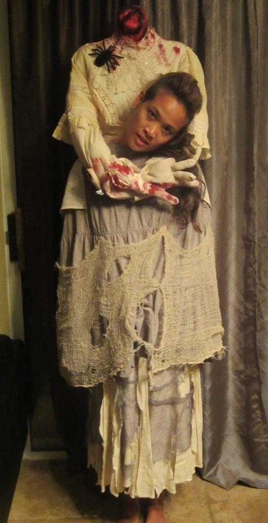 Mujer Sin Cabeza Disfraces Pinterest Halloween Fiesta Y Noche - Disfraces-sin-cabeza