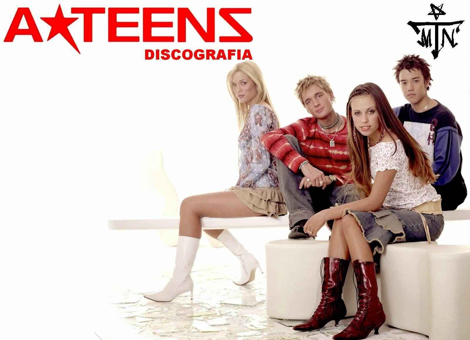 Discografia A Teens (DF) - Identi