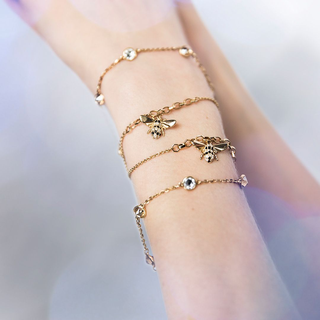 197128db6 Tap to shop the #Swarovski Remix collection featuring a classic summer  sidekick, the honey bee.