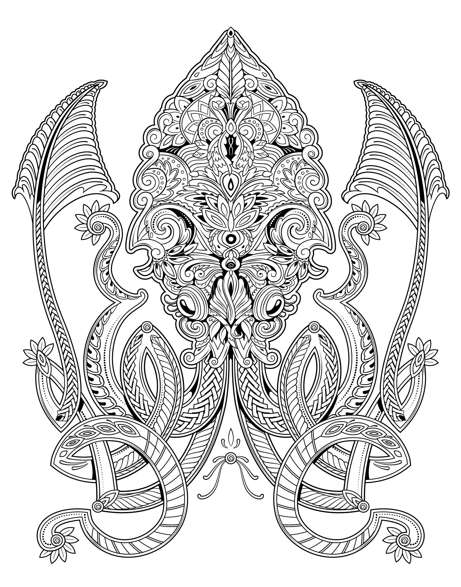 Image Result For Squid Adult Coloring Pages