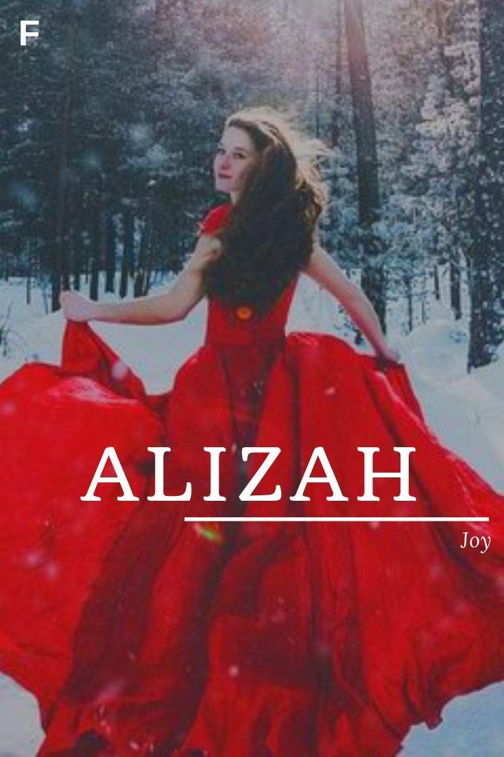 Alizah, meaning Joy, Hebrew names, A baby girl names, A baby names, female names #babynamesboy
