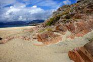 western isles luskentyre - Rocks on the beach #oceansprojectHQ