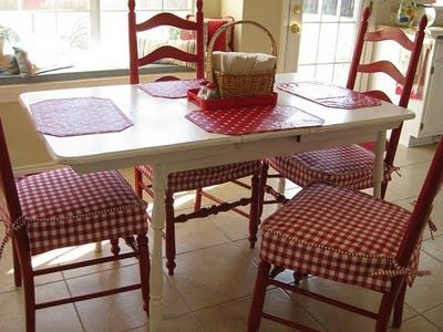 white sofa cover with wooden table | see I'm not crazy wanting red ladder chairs with a white ...