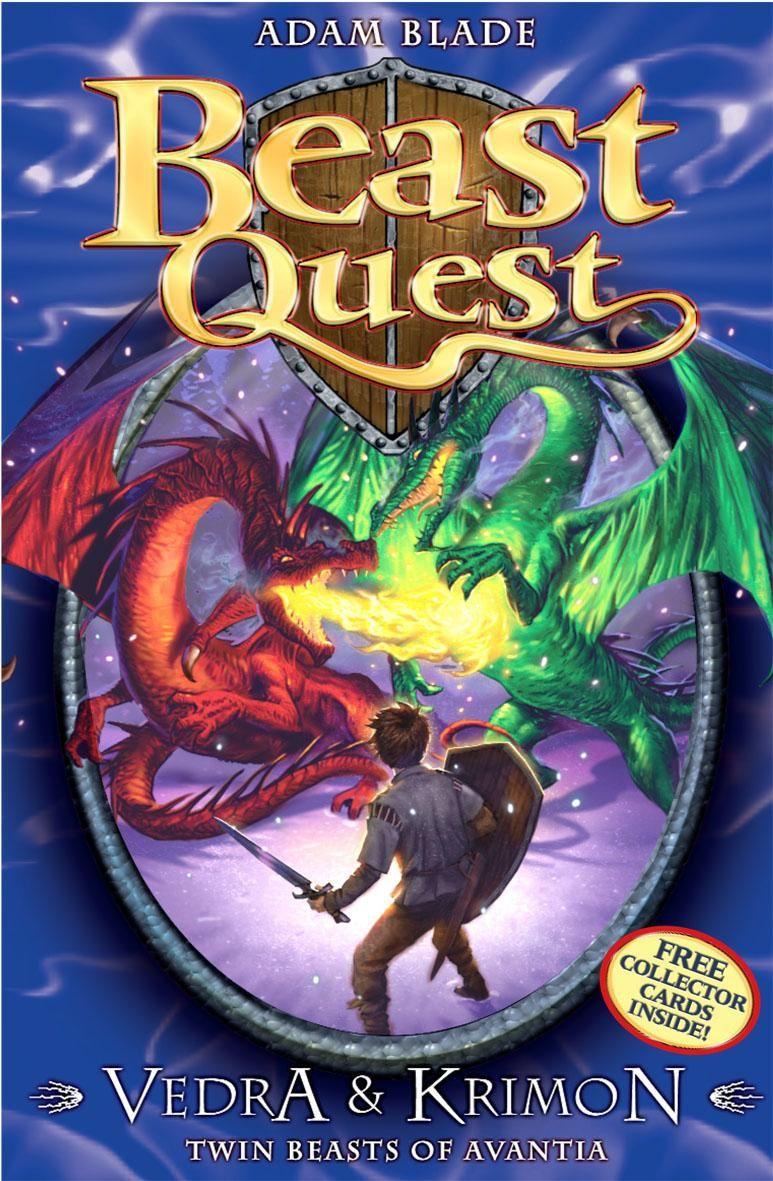 Old Book Cover Quest : Beast quest komodo the lizard king adam blade