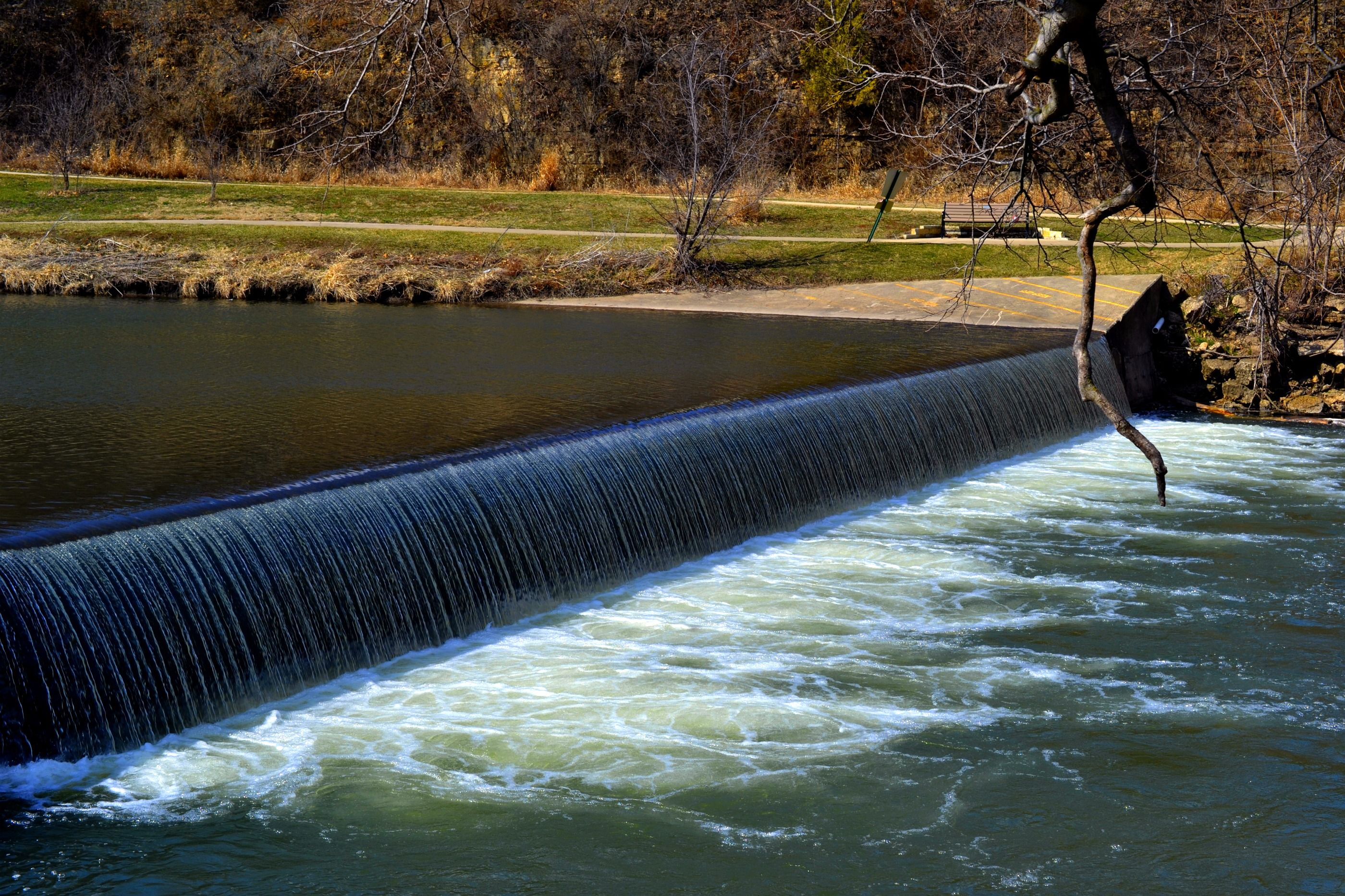 Waterfall On Yellow Creek In Krape Park Freeport Illinois Great Fishing Here And There Use To Be A Fish Ladder On Freeport Illinois Freeport Holland Michigan