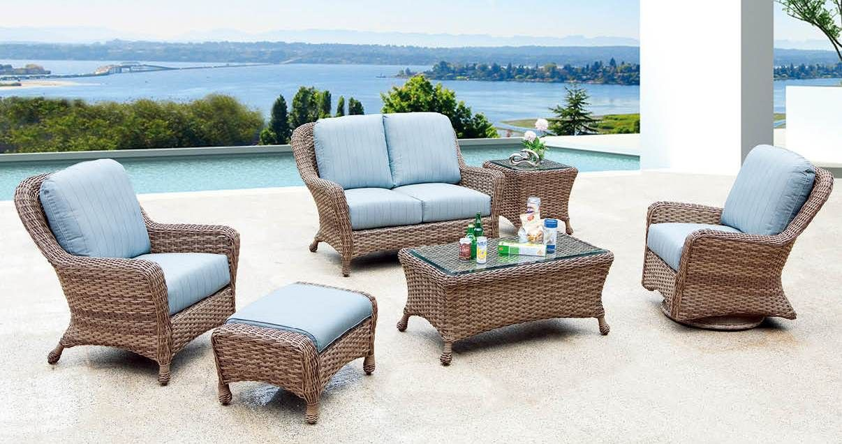 Captiva Deep Seating Wicker Set We Picked Out By Palm