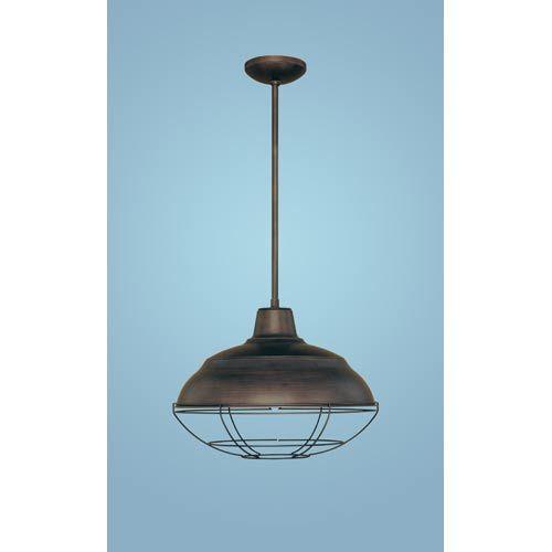 Millennium lighting neo industrial rubbed bronze one light pendant industrial kitchen sinks - Industrial kitchen island lighting ...