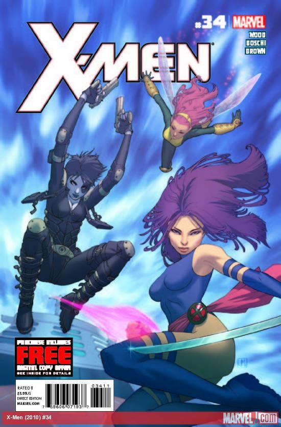 X-MEN #34 - The history of the Proto Mutants is revealed!  Mr. Grey makes his move against the X-Men…and it's not what any of them are expecting!  Colossus makes a decision that could endanger the entire team.  Storm's field agents are kidnapped and a weapon of the X-Men's making goes missing.