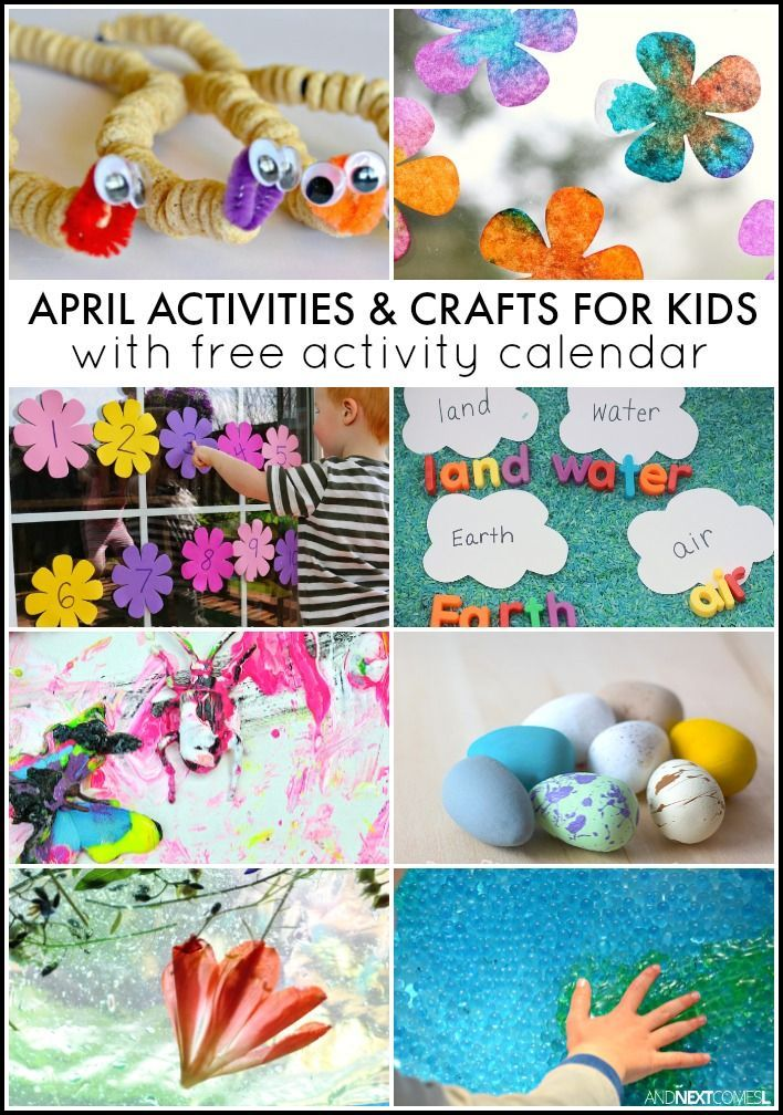 30 April Activities for Kids {Free Activity Calendar} Activities - activity calendar