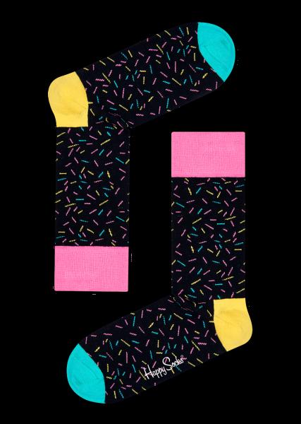 94e214fd979c Buy the best #Multicolor Sprinkles Black #Socks Buy at Best Price Rs. 399/-