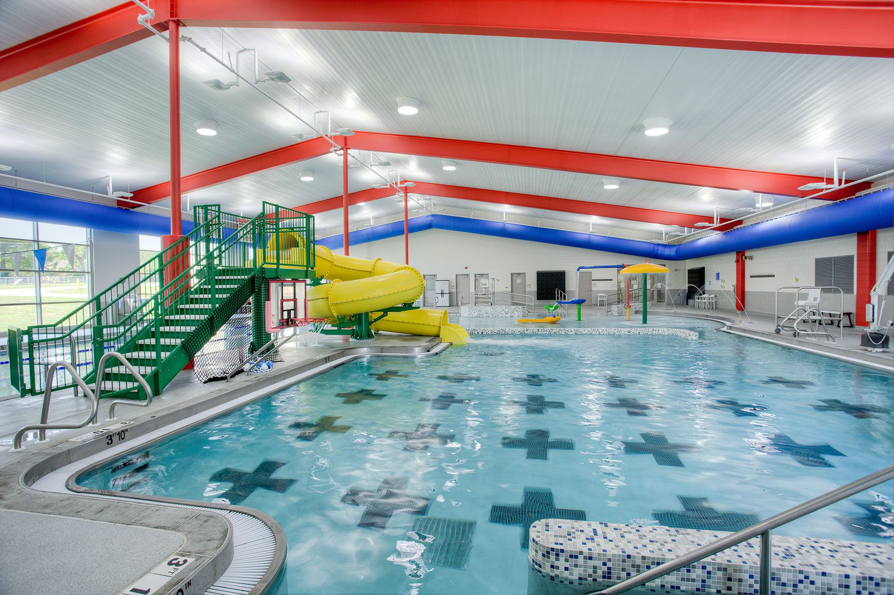 The Aquatics addition at the Doling Family Center in Springfield ...