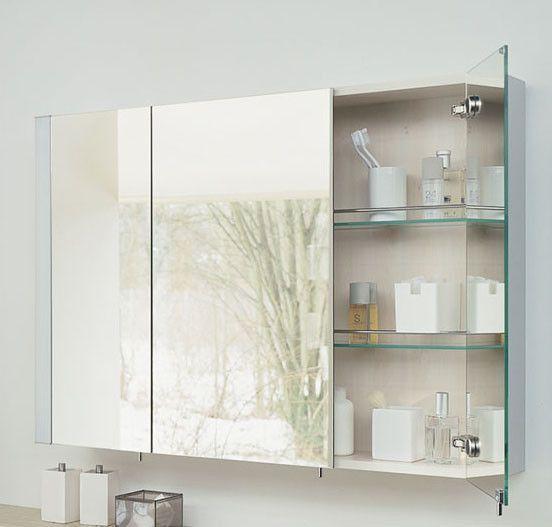 Resultado de imagen para botiquin con espejo para ba o - Espejos para cuarto de bano ...