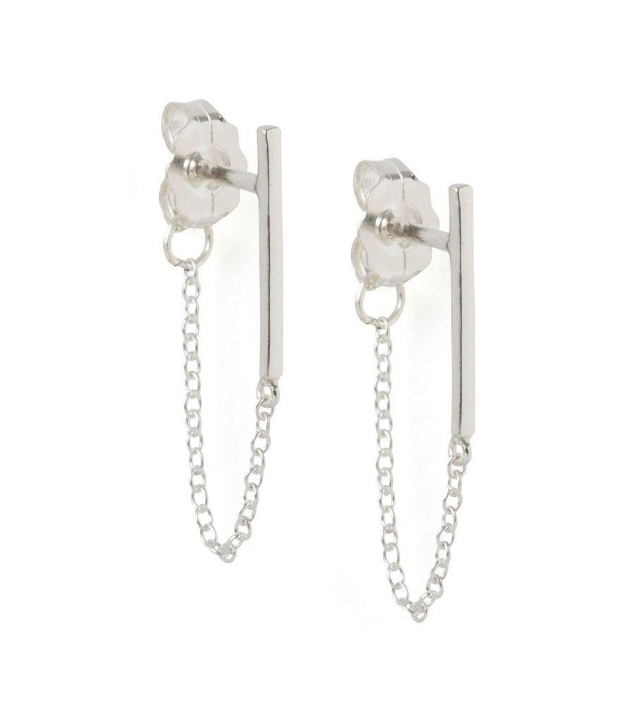 Catbird :: shop by category :: JEWELRY :: Earrings :: Ballerina Earrings, Silver