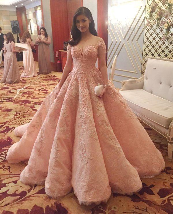 Vestidos de graduacion estilo princesa