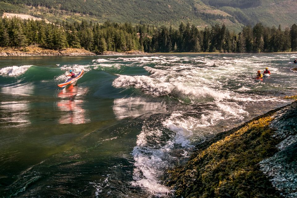 Longboat Lessons: Tips for Surfing a Sea Kayak