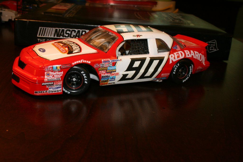 Ken Schrader 1987 Red Baron Pizza Ford Thunderbird  | 1/24 Scale